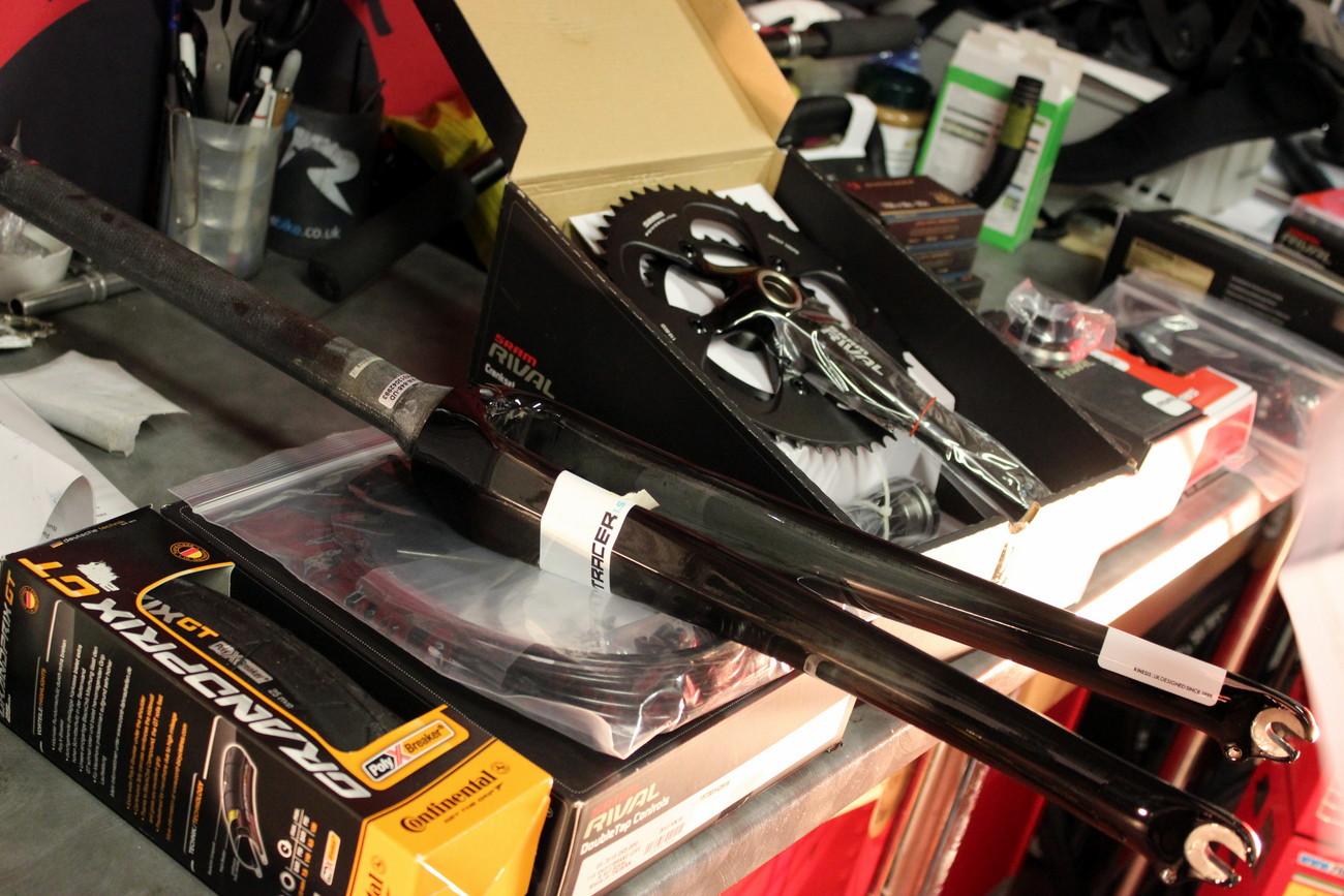 Wenn aus einem Haufen Einzelteile ein Fahrrad entsteht, ist das unglaublich befriedigend!