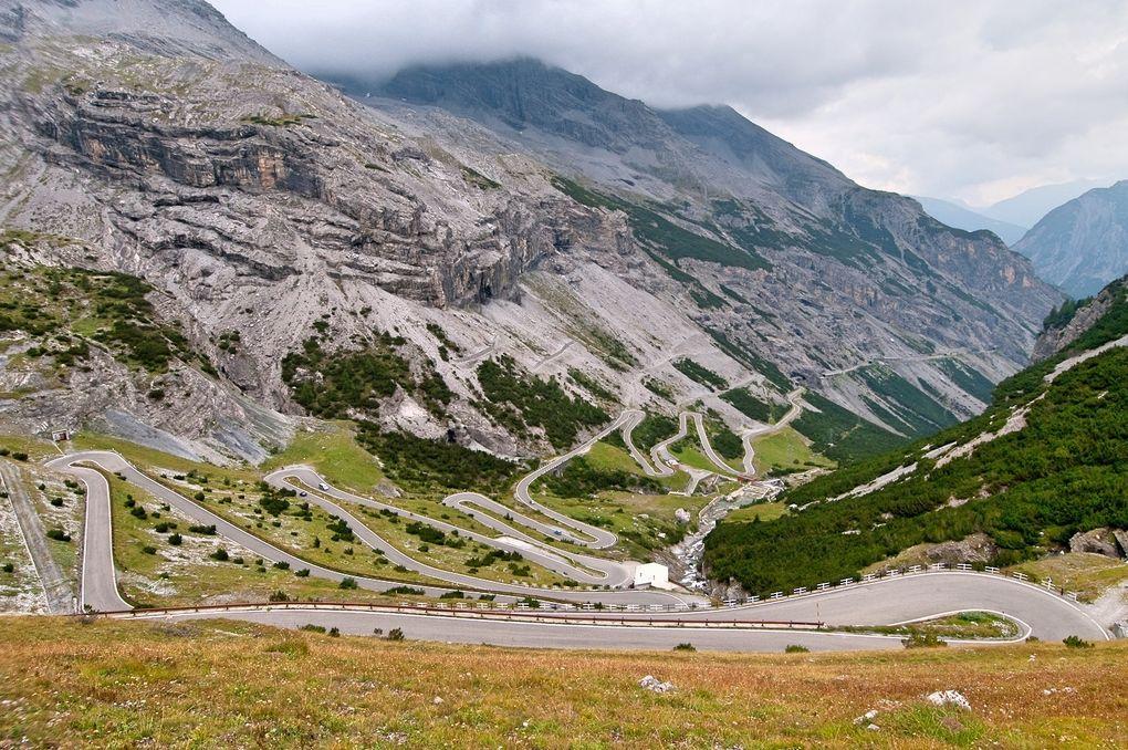 Die schönsten Rennrad-Strecken der Welt: Passo dello Stelvio in Italien (Foto: Steve Harris, via Flickr Creative Commons)