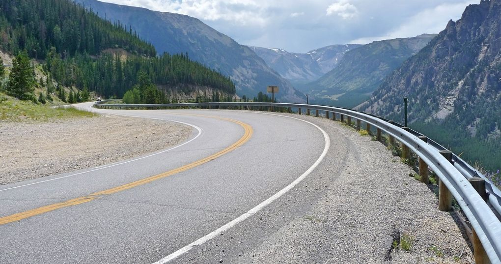 Die schönsten Rennrad-Strecken der Welt: Beartooth Highway in Montana (Foto: Alex1961, via Flickr Creative Commons)