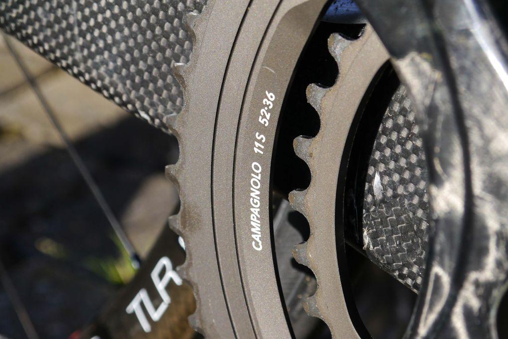 Campagnolo Super Record – die Kettenblätter der mechanischen Gruppe