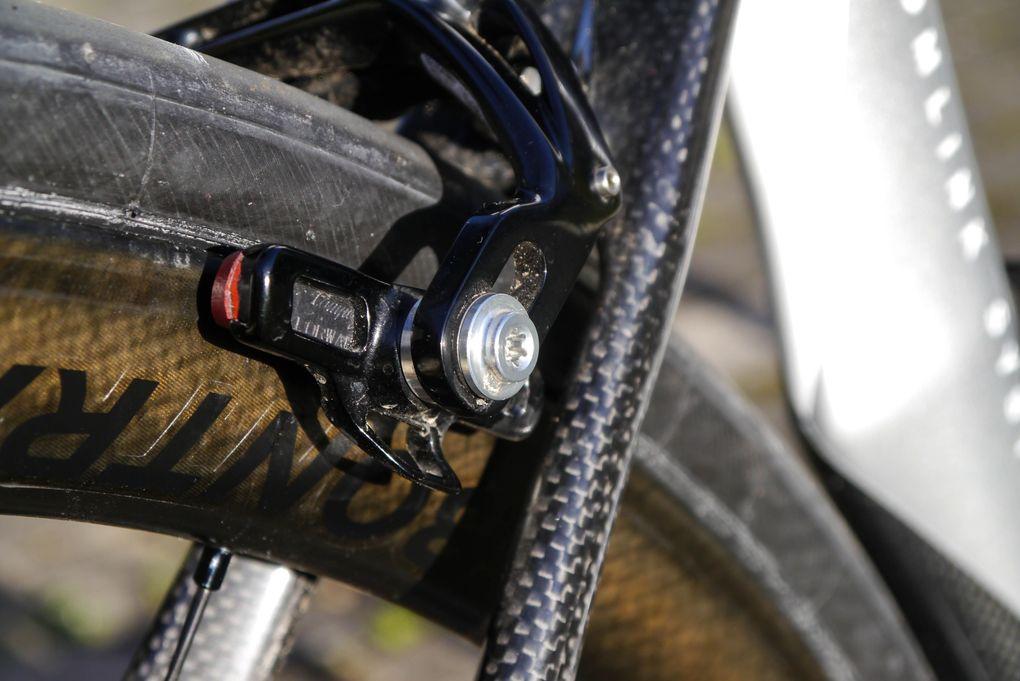 Campagnolo Super Record – die Bremsen der mechanischen Gruppe