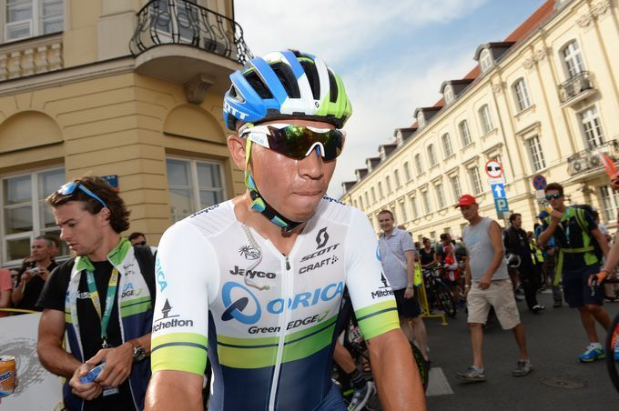 UCI-World-Tour-2016 - Rating aller 18 Team-Trikots: Platz 13 (3/5) – Orica GreenEDGE (Foto: Sirotti)