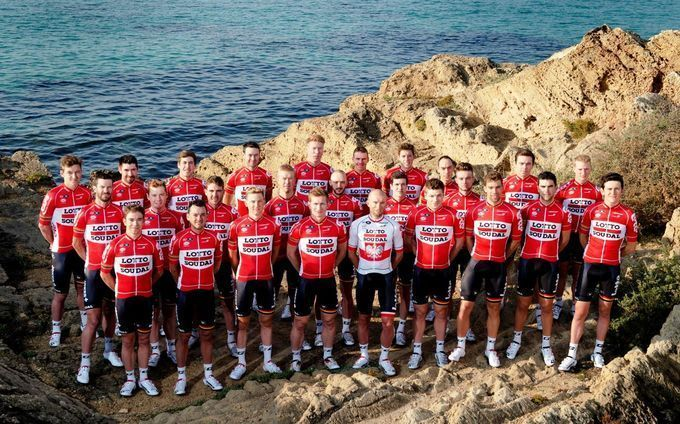 UCI-World-Tour-2016 - Rating aller 18 Team-Trikots: Platz 5 (4,5/5) – Lotto-Soudal (Foto: Lotto-Soudal)