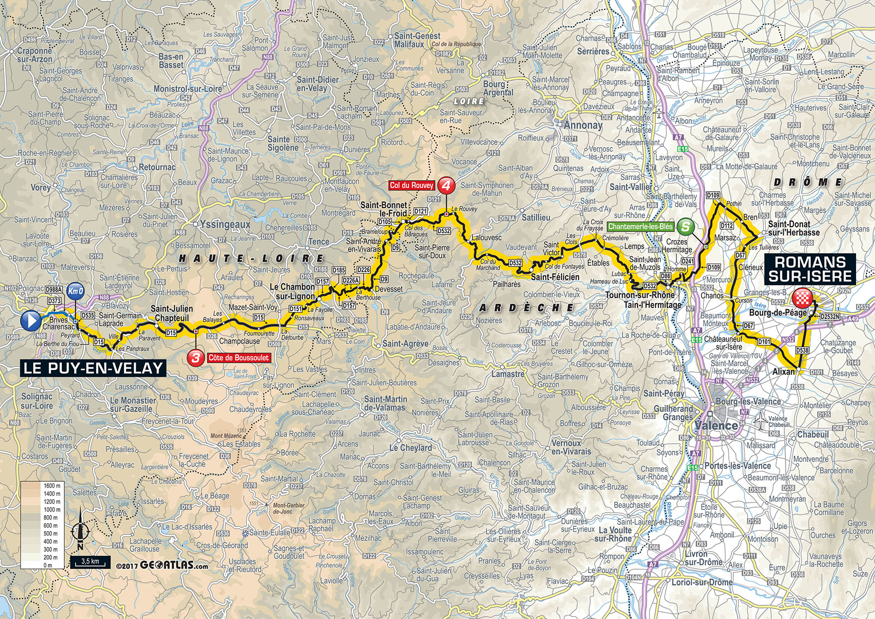 Tour De France 2017 Das Ist Die Strecke Roadcycli