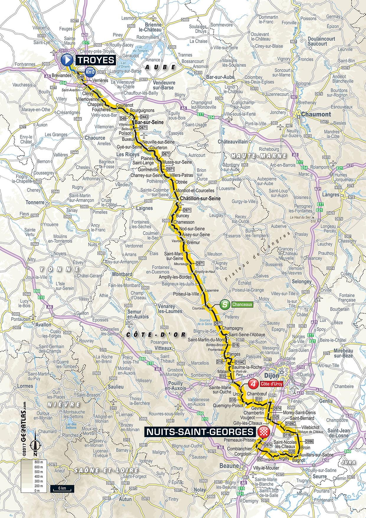 Tour De France 2017 Die Etappen Der Sprinter R