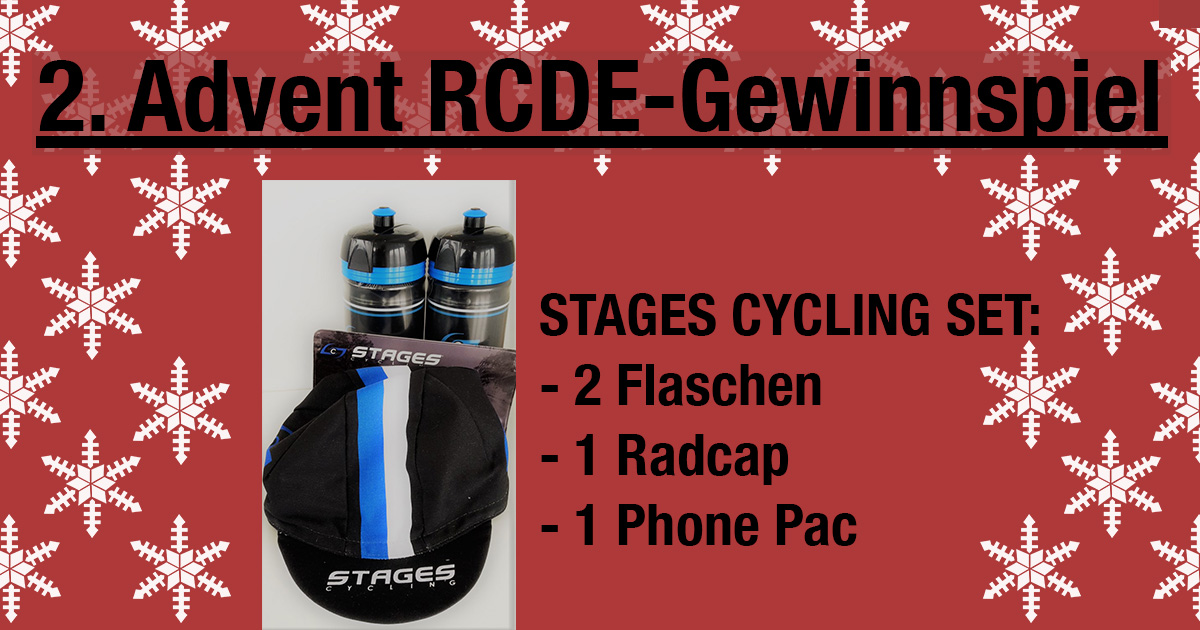 2 advent stages cycling rad set gewinnspiel bei rcde. Black Bedroom Furniture Sets. Home Design Ideas