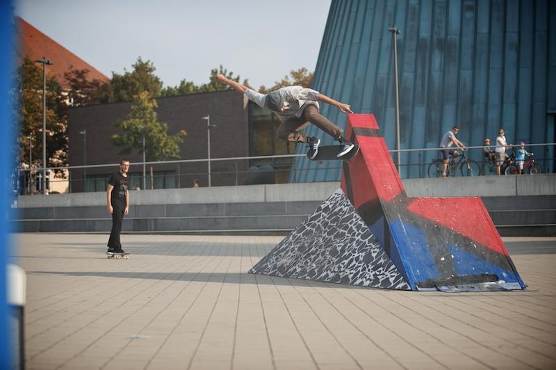 Roberto Cuellar – Skate Sculpture