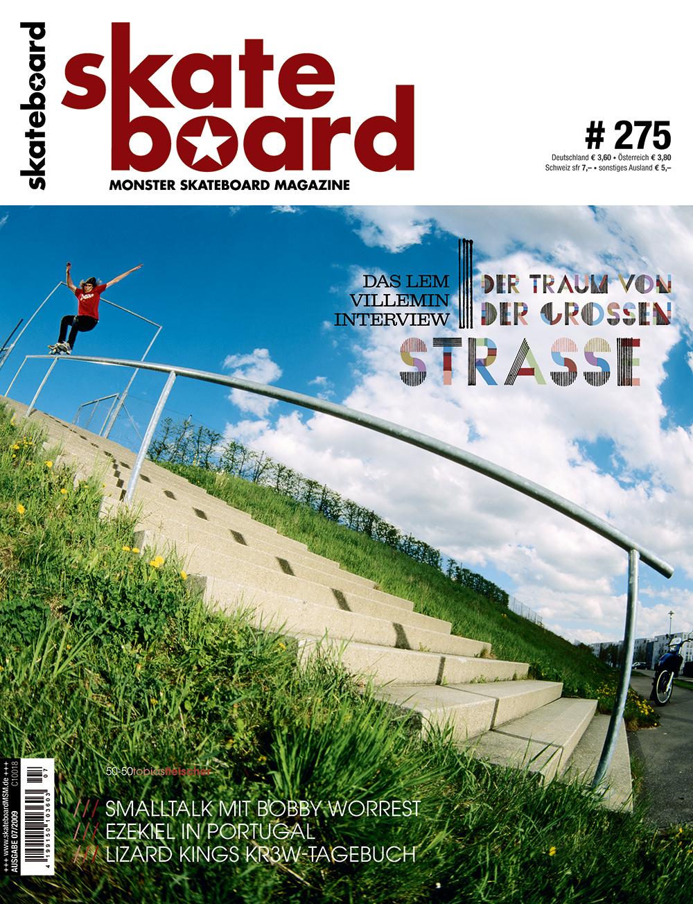 Okay, das Cover hat mindestens genau so viel Mosh Faktor. Tobias Fleischer katapultierte sich mit diesem 50-50 auf die Landkarte und erlegte später ebenfalls noch das Bremer Rail.
