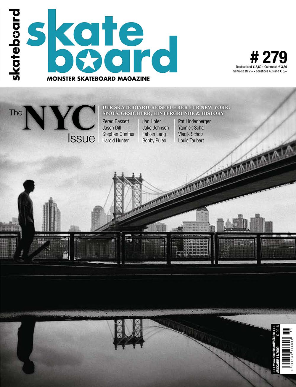 Die NYC Issue zählt bis heute (jedenfalls redaktionsintern) zu einer der absoluten Lieblingsausgaben. Ebenso das Cover mit dem Blick auf Brooklyn.