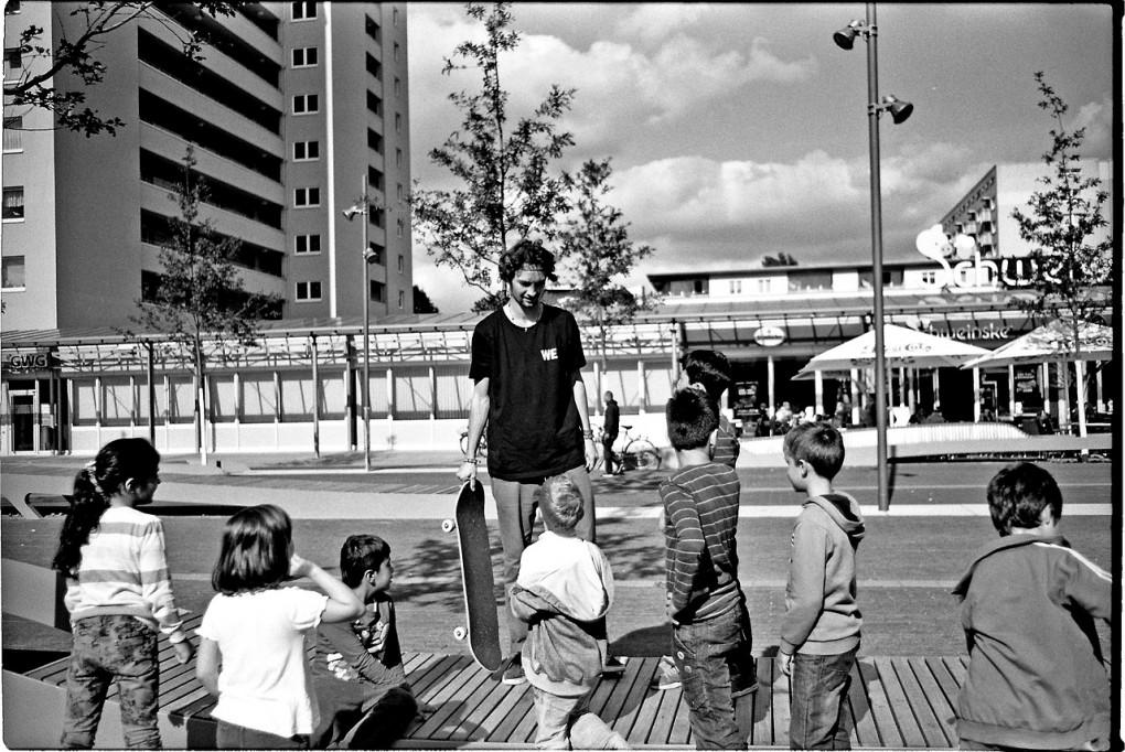 Nizan und Kids