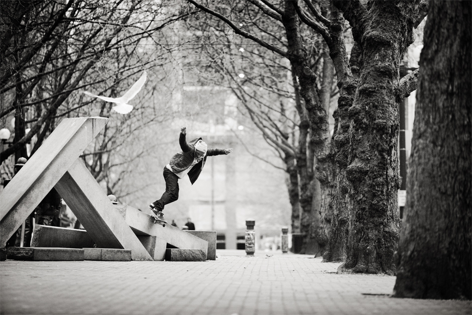 Dominick Walker – Backside Smithgrind | Photo: Brian Gaberman