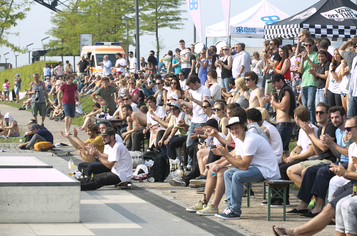 Die Crowd © Cora Berndt-Stühmer