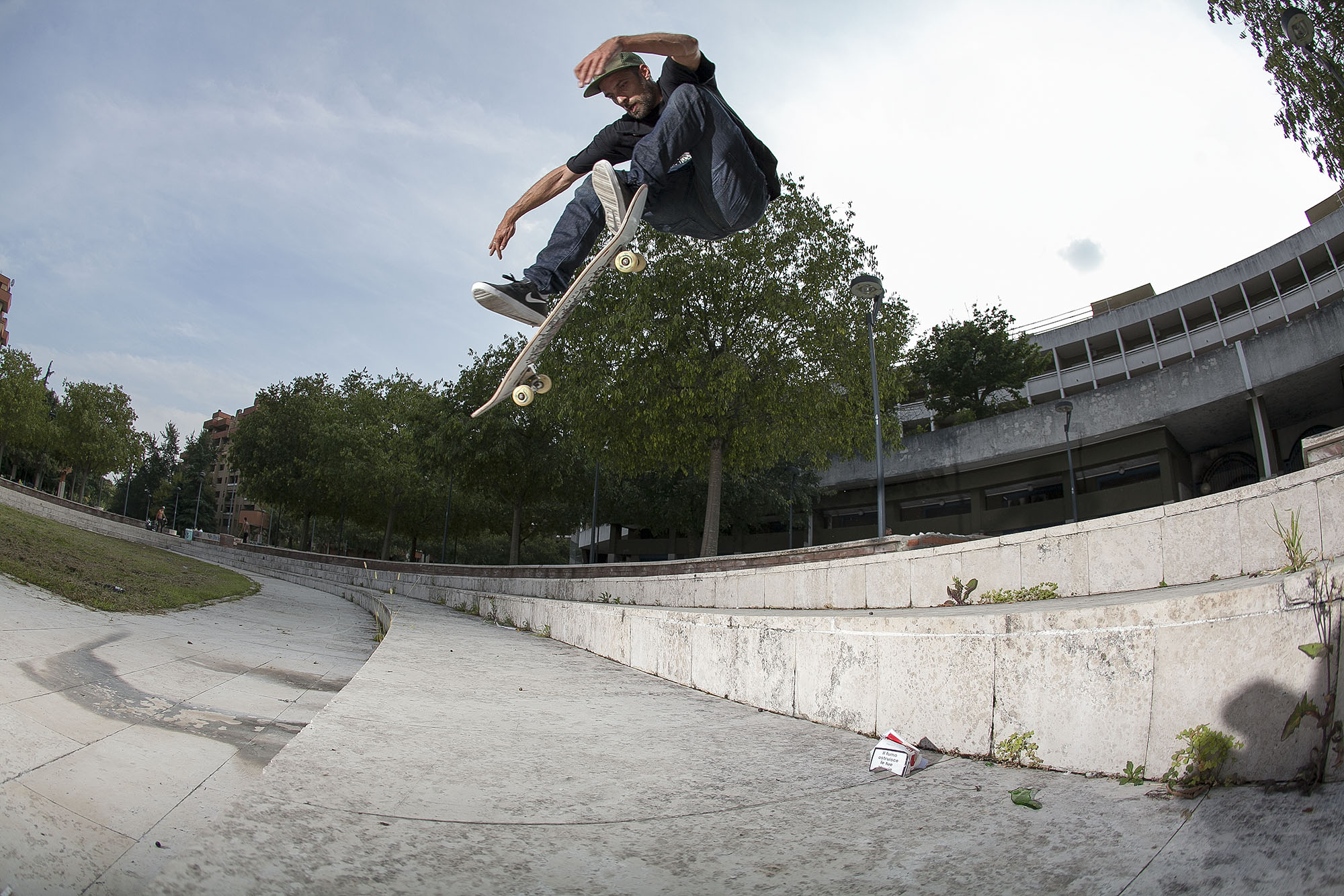 Oli Kentner – Pop Shove-It | Mailand Plaza | Foto: Martin Herrmann