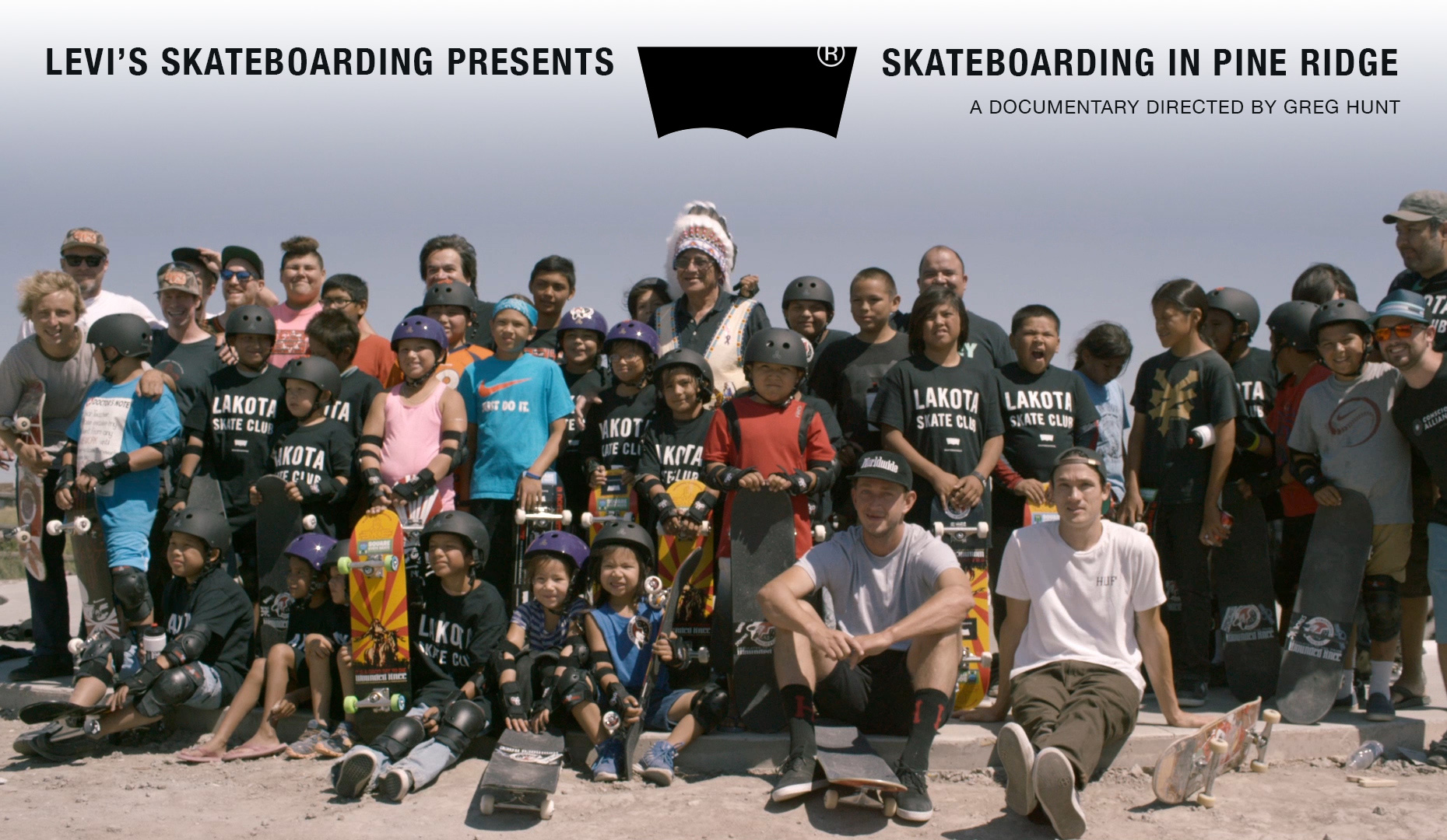Lakota Skate Crew in full effect