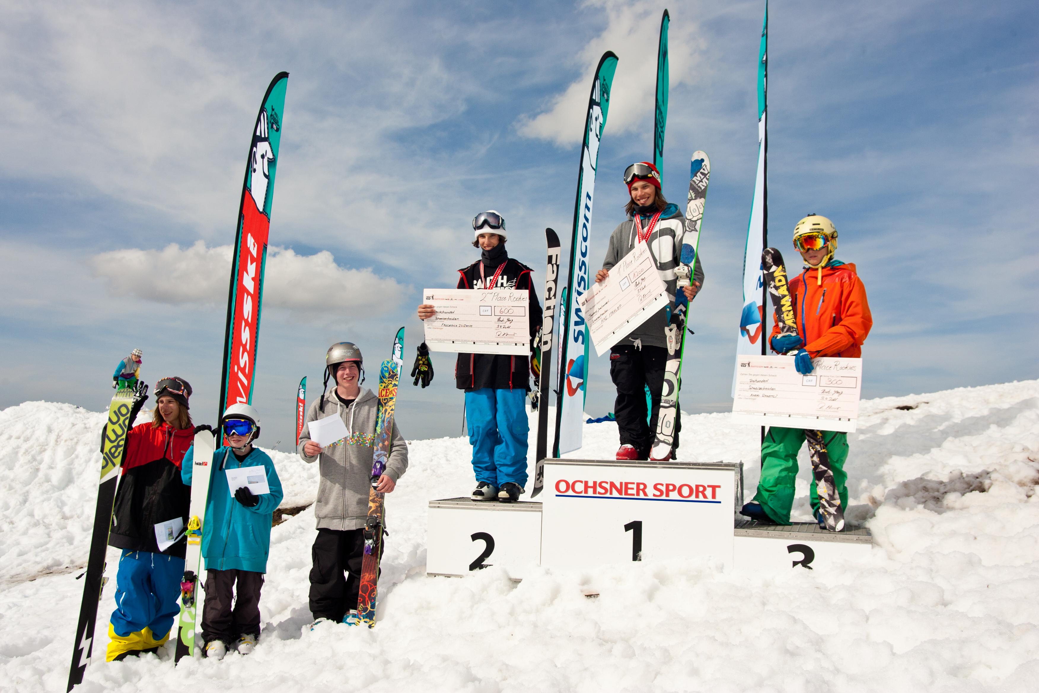 Bild 1 - Gewinner Rookies - Swisscom Freeski Tour- Hoyh-Ybrig