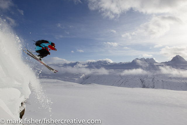 Todd Ligare in Valdez, Alaska while filming with TGR for their upcoming film