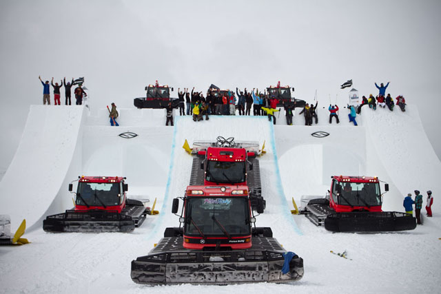 Suzuki Nine Knights 2012 in Mottolino, Livigno
