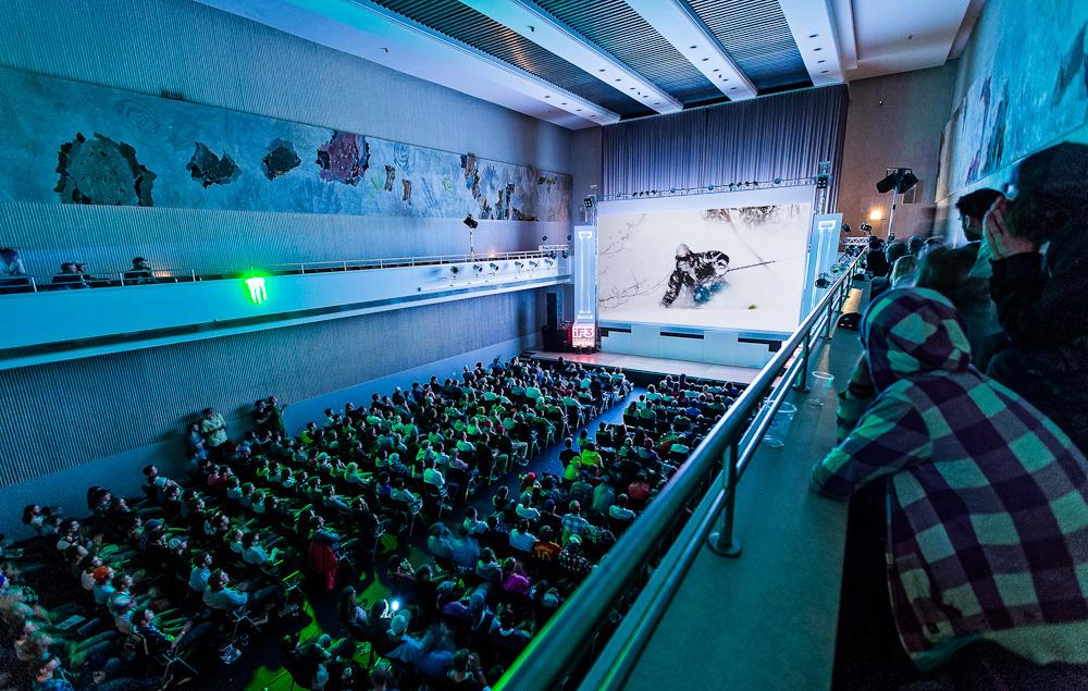 International Freeski Film Festival (iF3) 2012 in Annecy, FR
