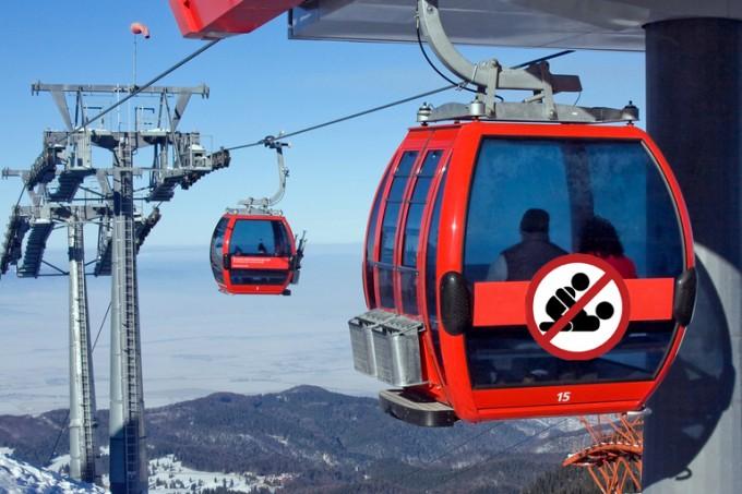 Sex ski lift