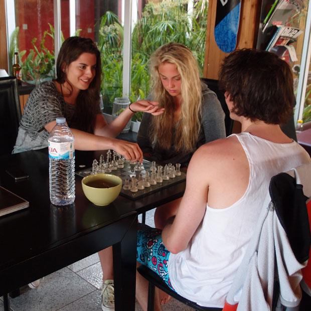 Cilka verrät ihre geheimen Schach-Tricks.