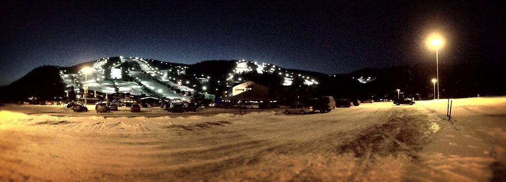 Stoneham bei Nacht