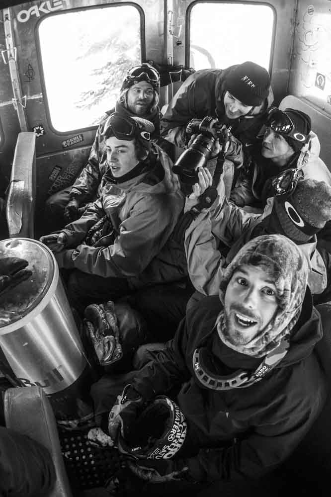 John Jackson, Mark McMorris, Bryan Fox, Gigi Rüf, Terje Haakonsen - © Red Bull Media House