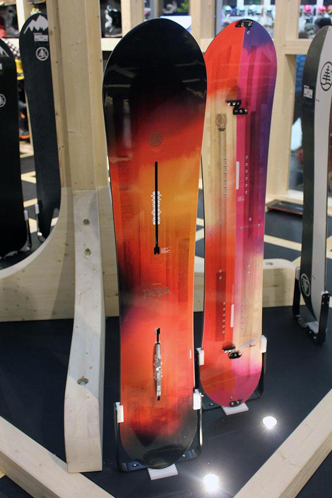 Ein pistentaugliches Powderboard für Frauen: das Daytrader von Burton.