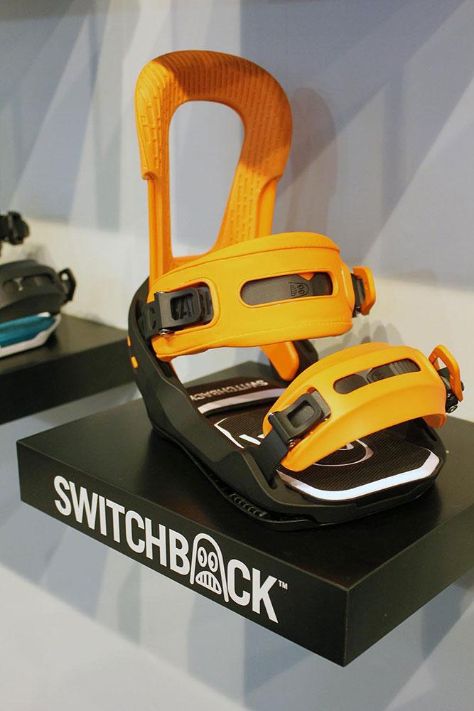 Teil der Switchback-Philosophie ist, dass jeder Kunde die Farbe jedes einzelnen Teils seiner Bindung selbst bestimmen kann...