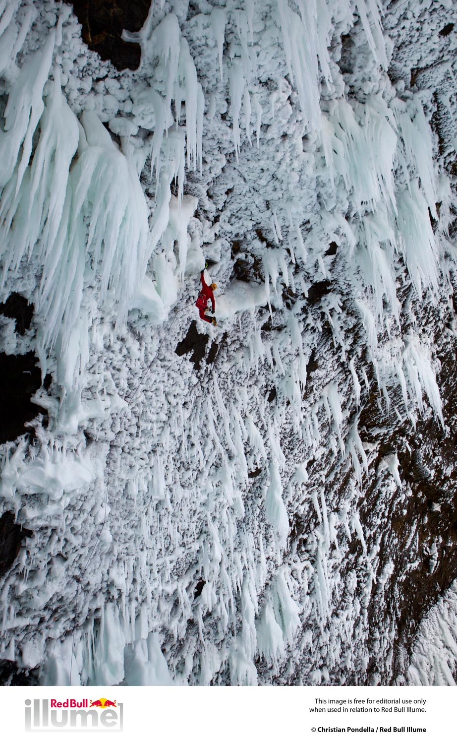 Location: Helmcken Falls, BC - Canada Athlete: Tim Emmett Photographer: Christian Pondella