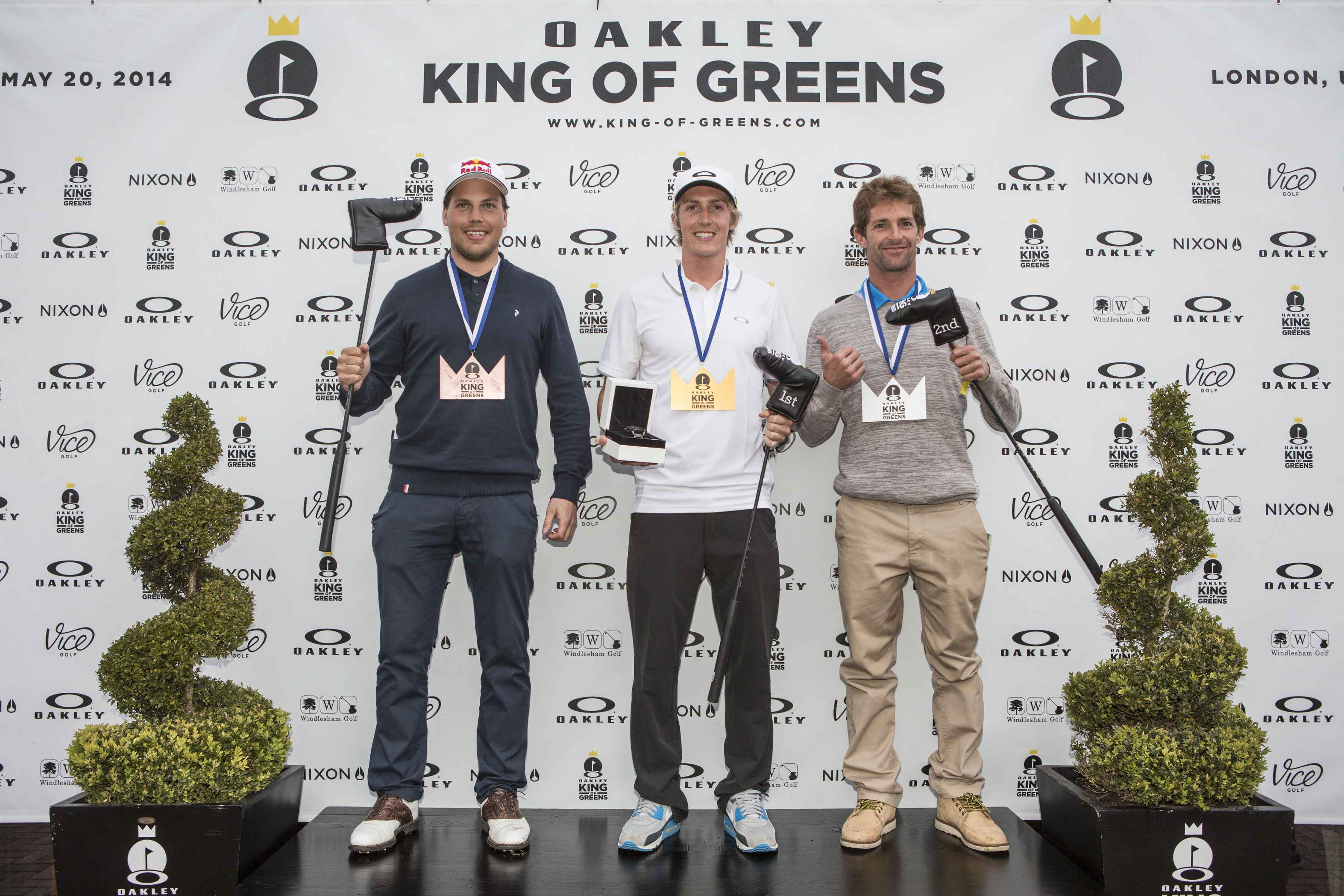 OAKLEY KING OF GREENS 2014