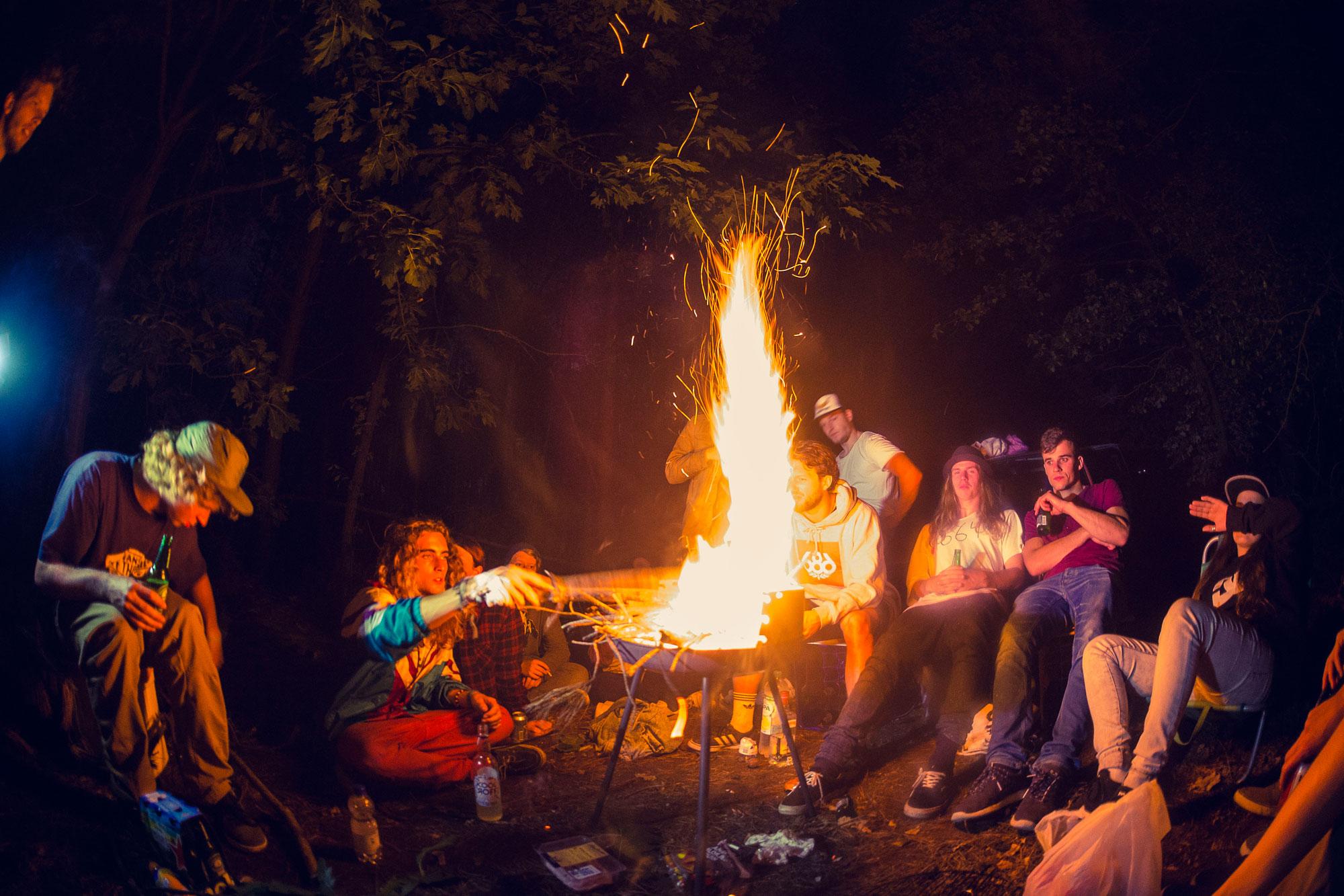 Camp vibes. Photo: Tim Schiphorst