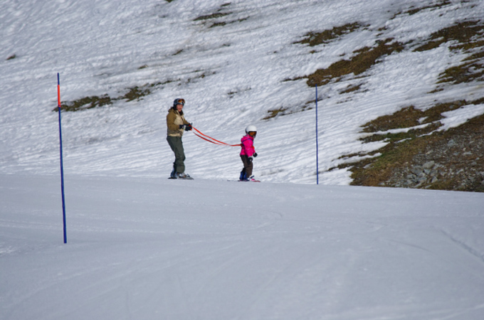 kinder snowboarden