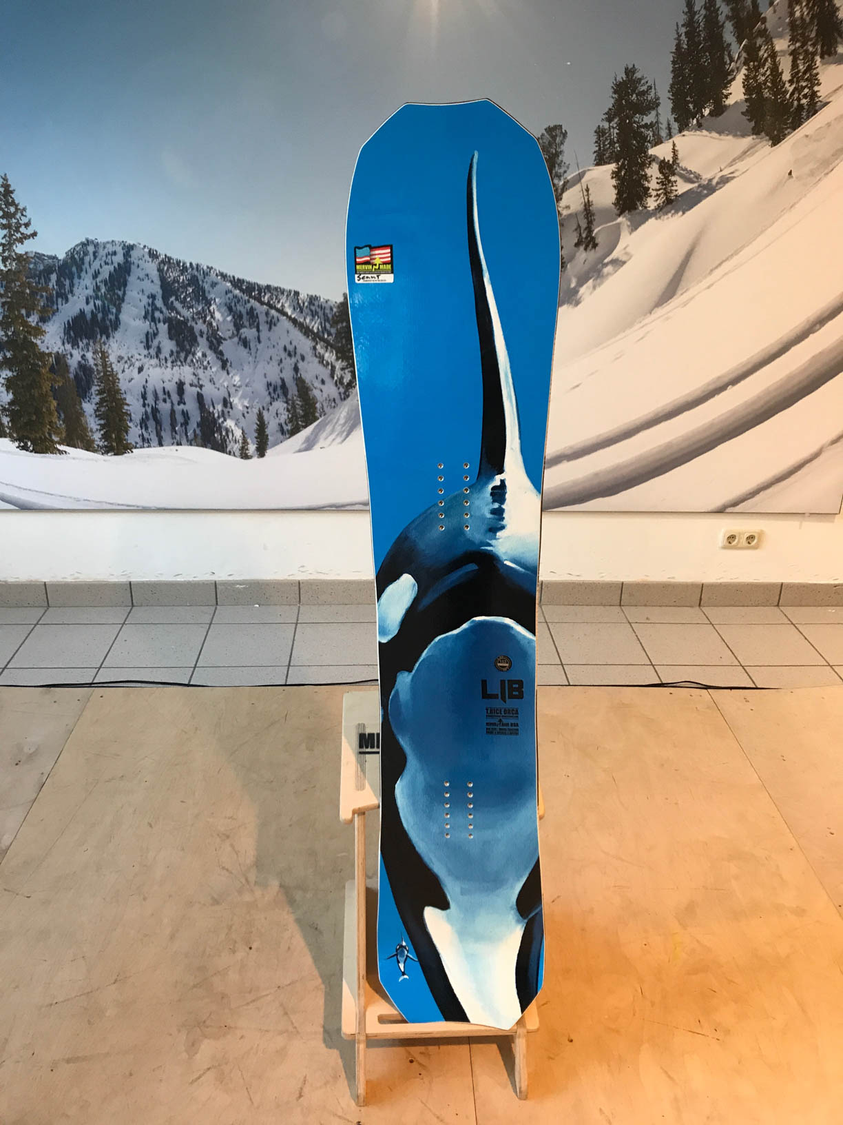 Lib Tech Orca 18/19 – Travis Rice Passion Project – 3 years in the making