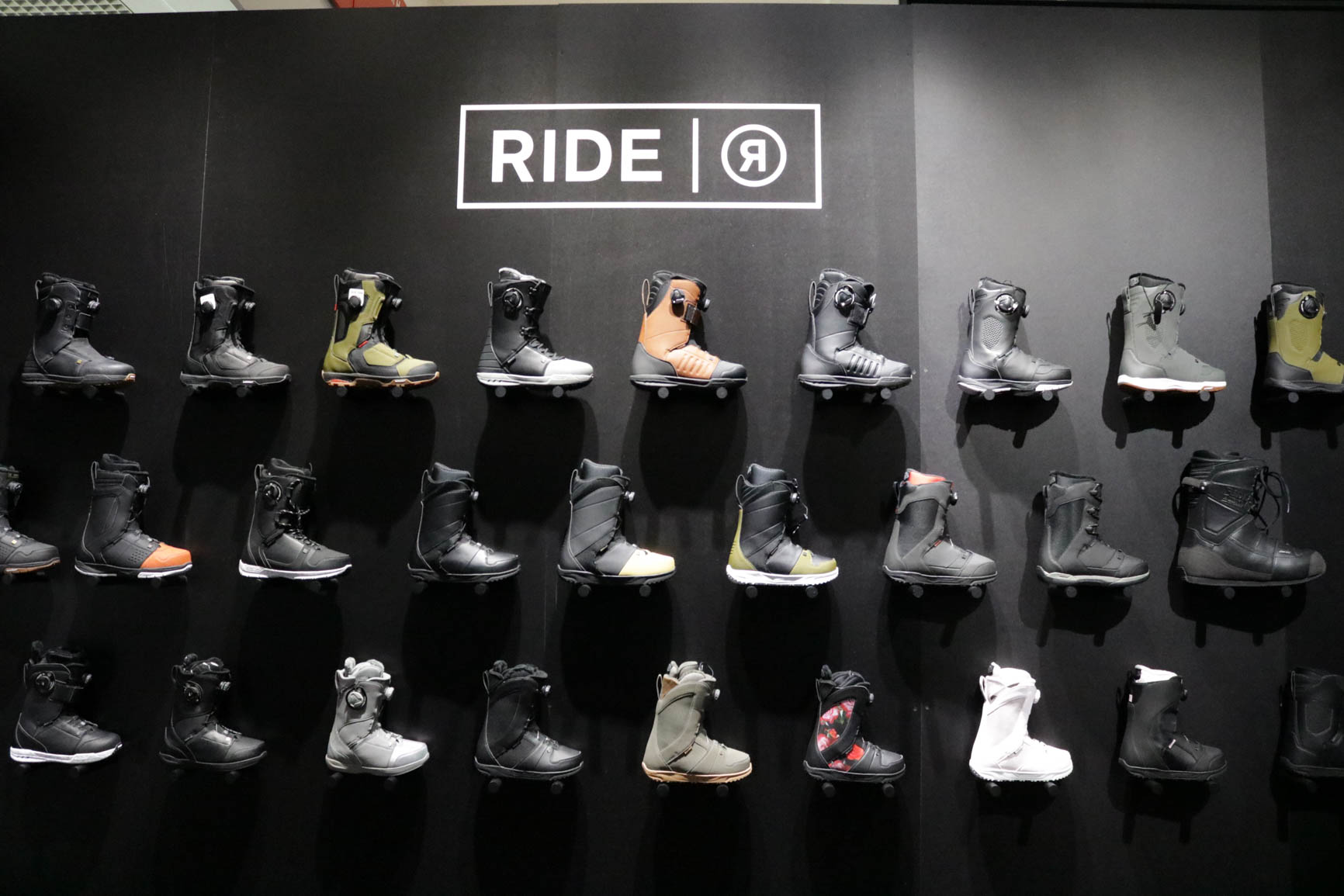 Ride Snowboards Boots 18/19