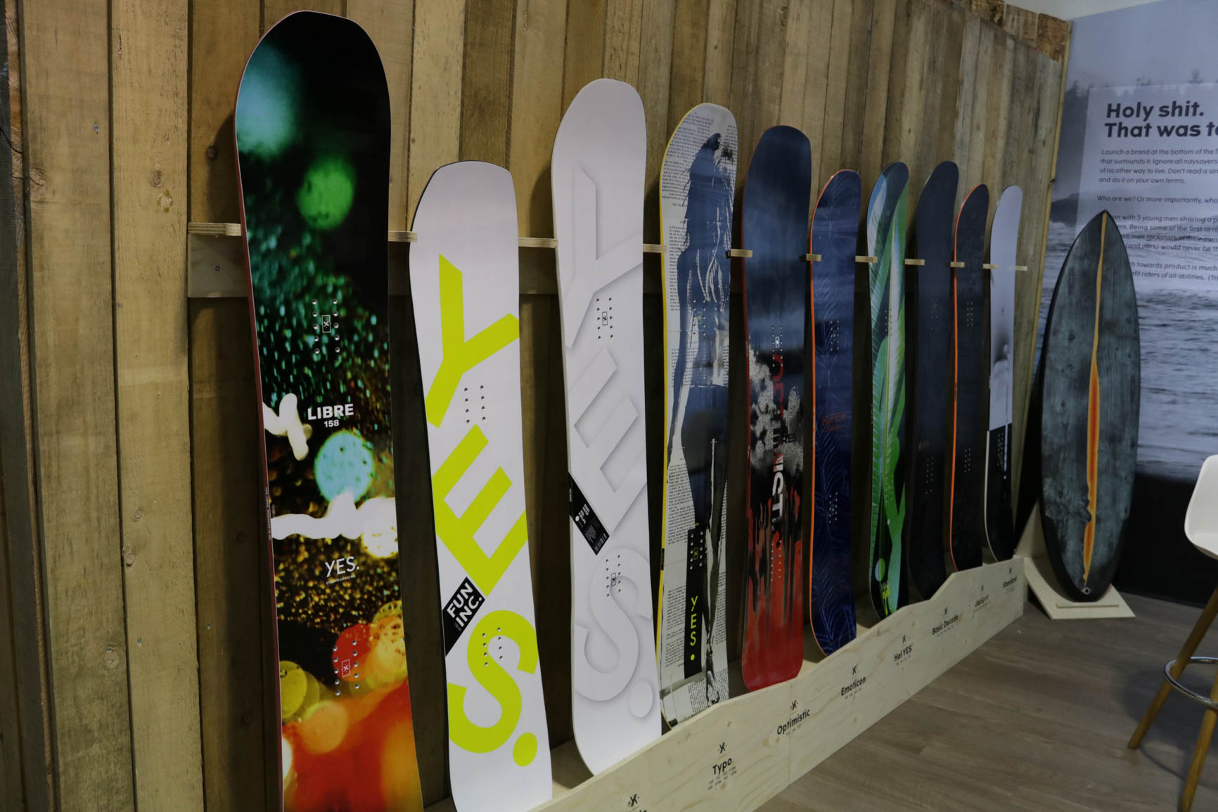 YES Snowboards 18/19