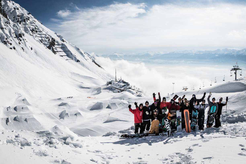 Sane! Crew   Pic: GOT iT! - Sane! Spring Break 2018 Nordkette
