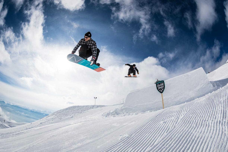 Rider: Steve Grumser & Alex Acs   Pic: GOT iT! - Sane! Spring Break 2018 Nordkette