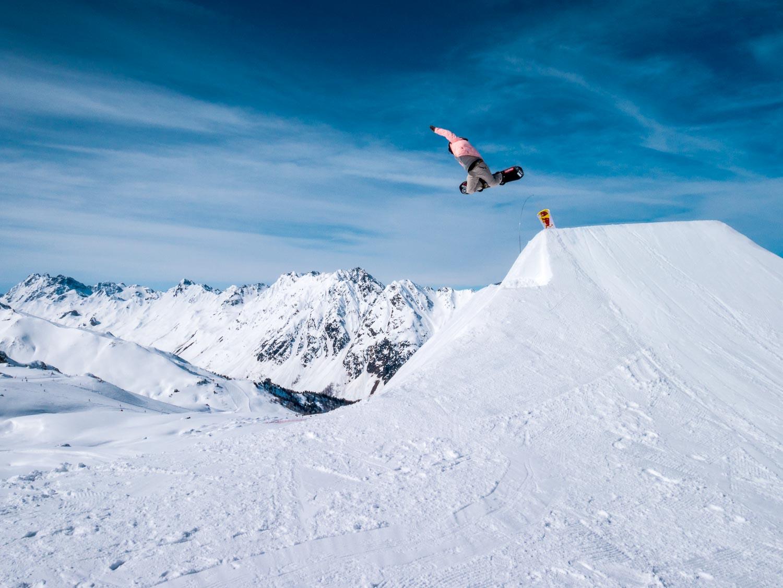 Banked Air Ischgl 2018 | Pic: Sebastian Hofer