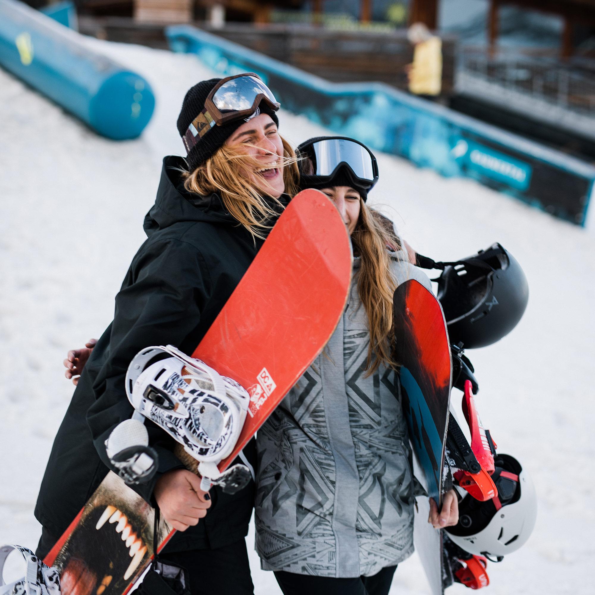 Snowboard Test 201819 (Frauen) Snowboarder MBM