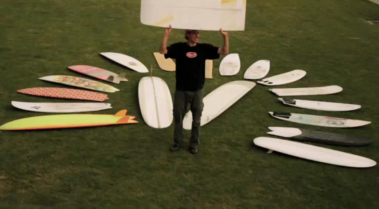 Ryan Burch uns seine liebsten Boards