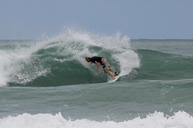 Caribbean Surf auf Isla Colon (Panama)