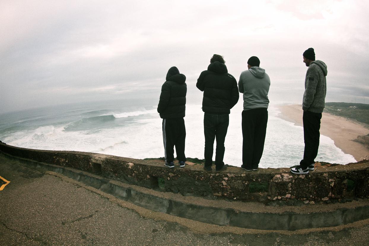 Der Spot Check mit Regen, Nebel und Kälte // photo: Carlos Pinto