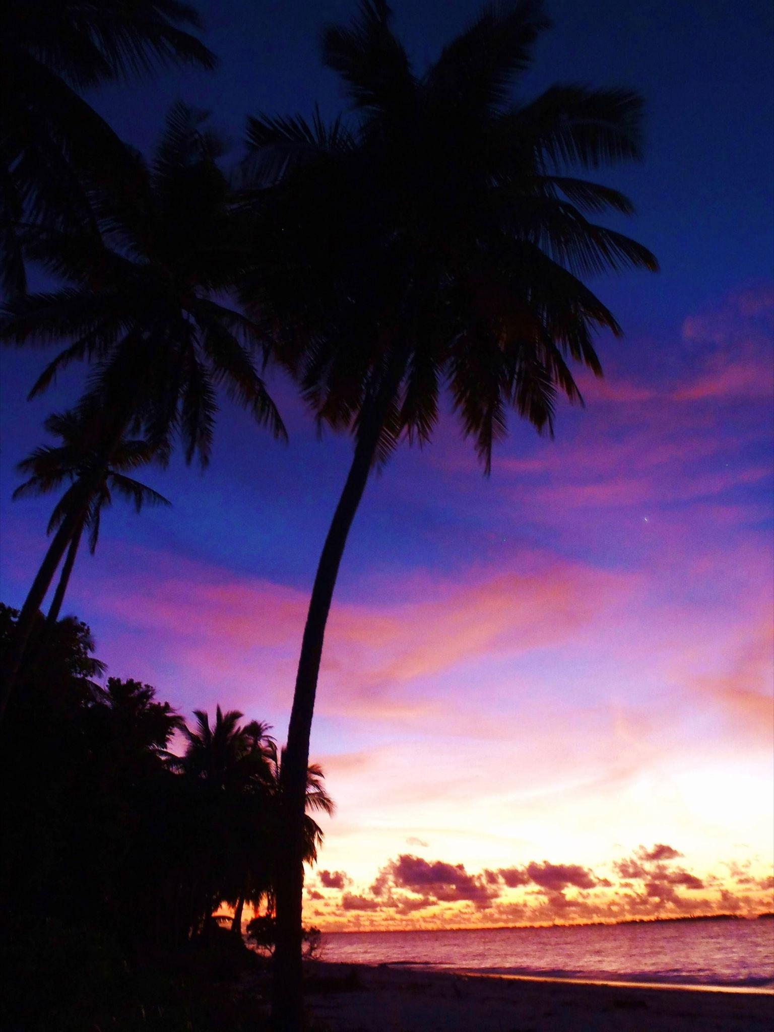 Die Sonnen Untergaenge waren immer atemberaubend und einmalig...