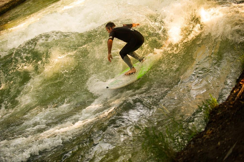 Big Wave Einstellung