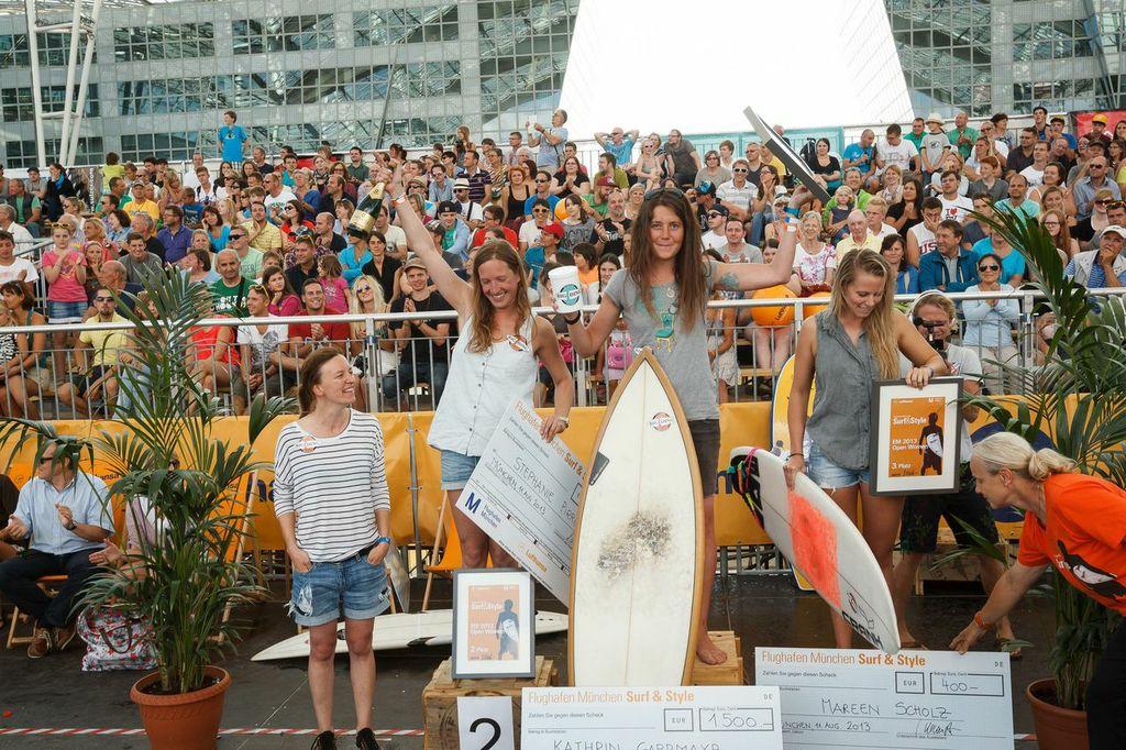 Die Gewinnerinnen © Flughafen München