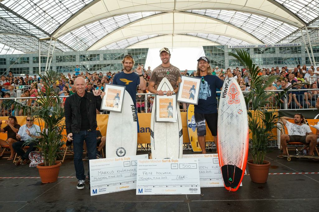 Die Gewinner der Masters © Flughafen München