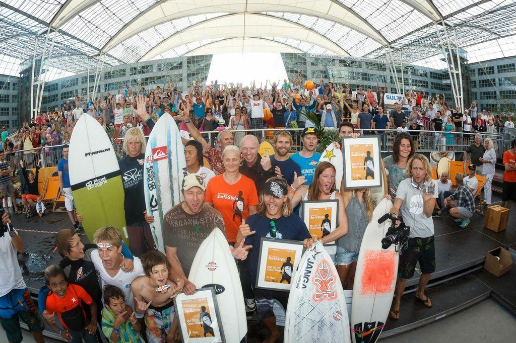 Die Teilnehmer © Flughafen München