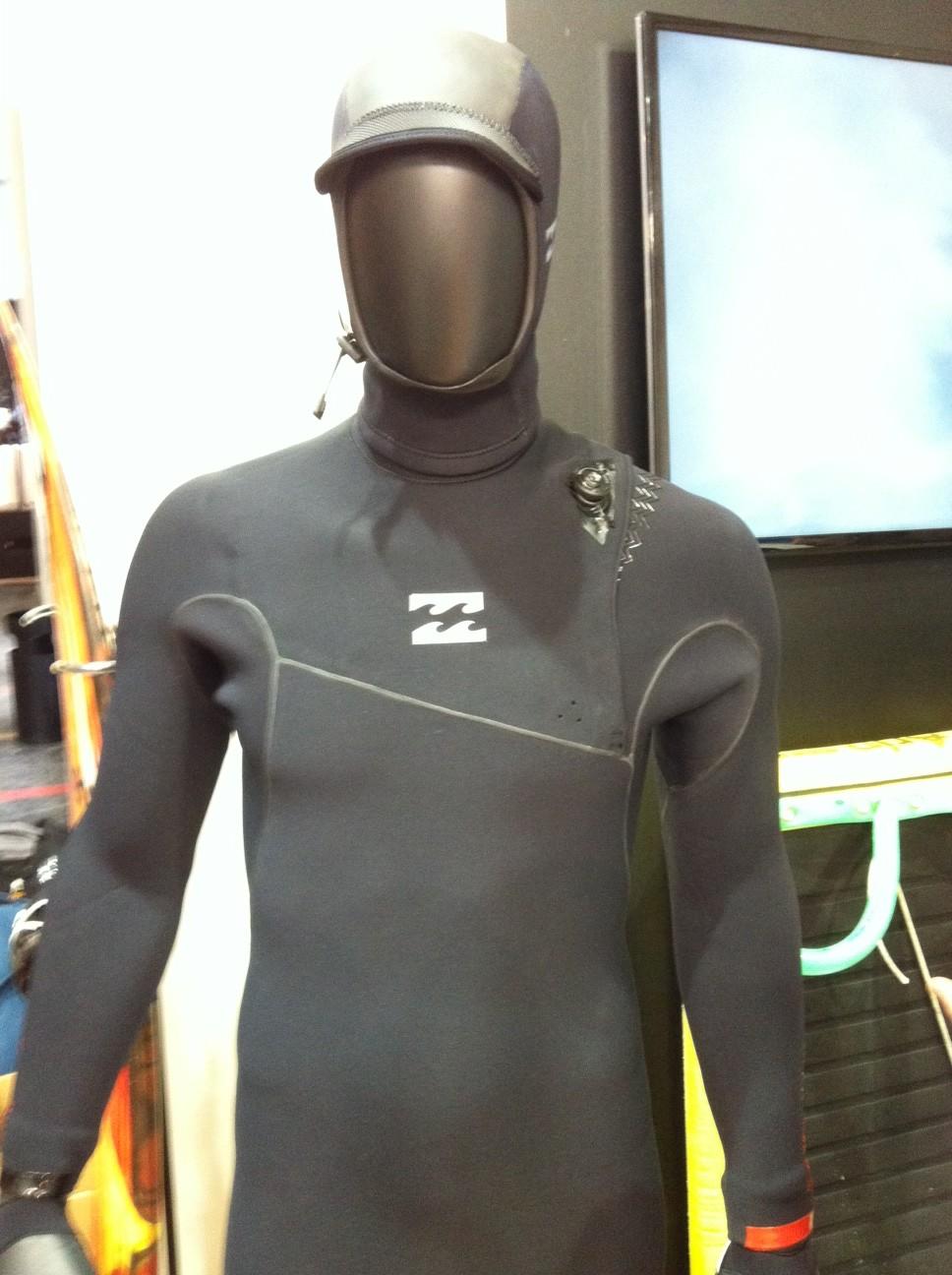 von den Snowboardboots geklaut und jetzt im neuen Billabong Wetsuit - das BOA Schnürsystem