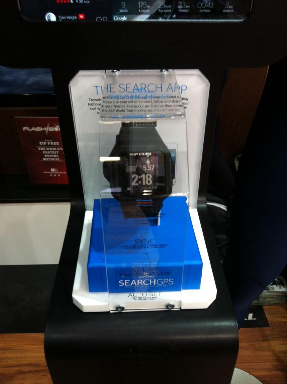 Die Rip Curl Search Uhr mit GPS Tracker