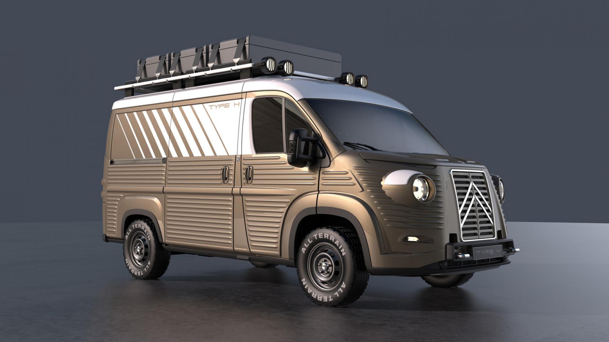 Das Revival Des Legendaren Citroen H Van